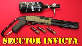 Airsoft - Secutor Invicta G-II gas shotgun [French]