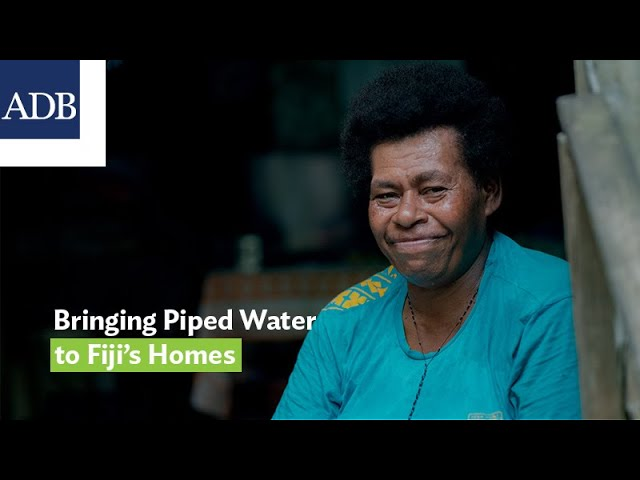 Bringing Piped Water to Fiji's Homes