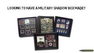 Military Shadow Box - Custom Military Shadow Boxes - Call: (309)289-0099
