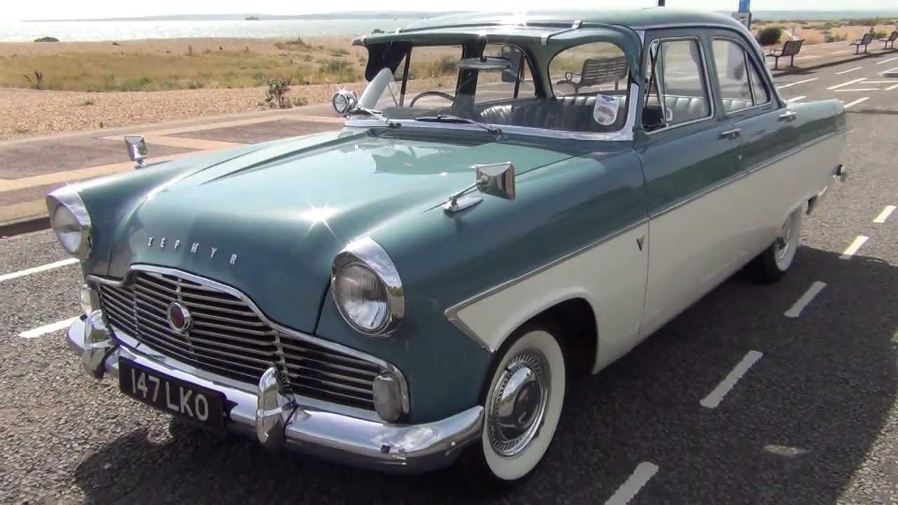 trojan cars classic ford zephyr 6 1960 - youtube
