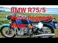 BMW R75/5 de 1972 | Me para la Ertzaintza, Casi accidente y fábrica BMW Motodiógenes Rider ??????|