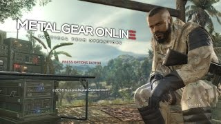 Metal Gear Online 3 Gameplay - MGO3 - You Can Run But You Can