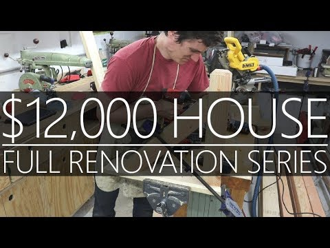 $12,000 CASH House - Roof Brackets & Shop Tour #25