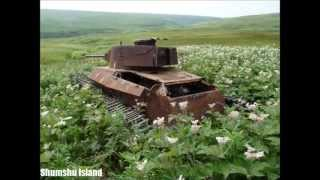 Abandoned Japanese World War II Tanks in the Pacific To this day hu...