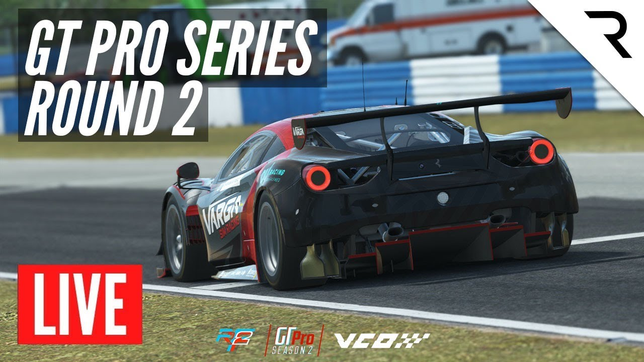 rFactor 2 GT Pro Series powered by VCO - Season 2, Rd.2: Portland