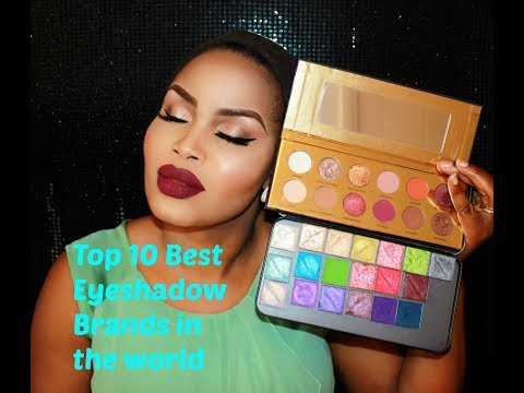 Top 10 Best Eyeshadow Brands in the World