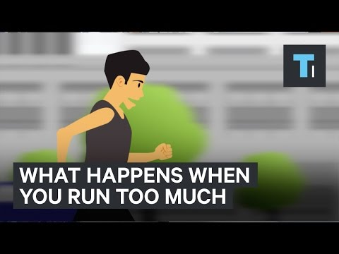 Thumbnail: 4 terrible things that happen to your body when you run too much