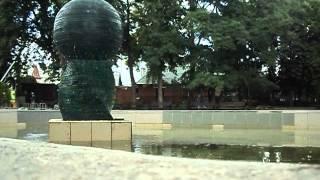 фонтан из оргстекла в Липках