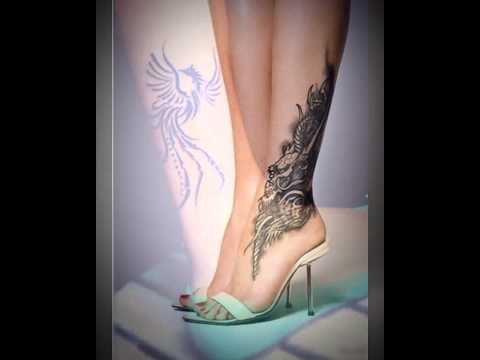Butterfly Tattoo On Leg 30 Lovely Ankle Tattoos For Women Slodive