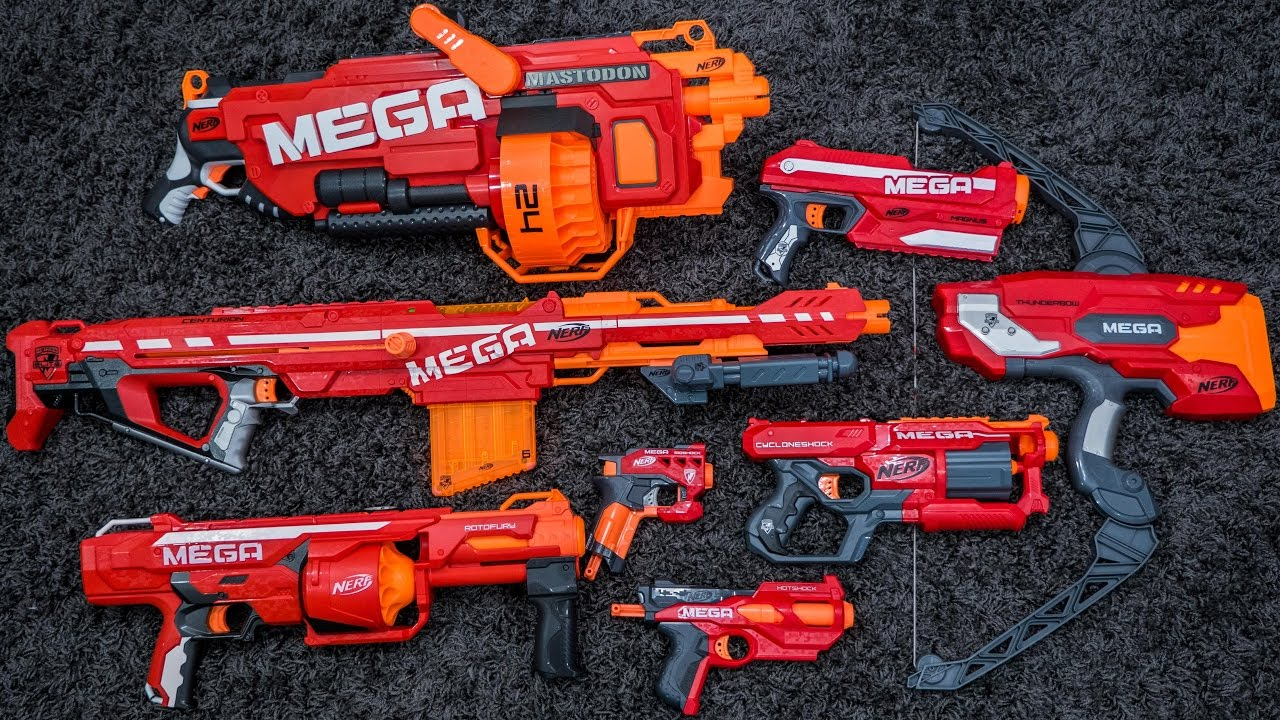 Nerf Mega   Series Overview & Top Picks