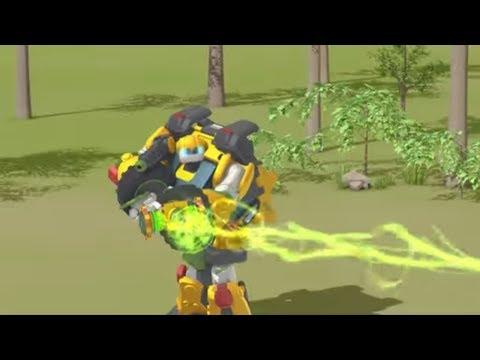 видео: Тоботы 4 сезон - Новые серии - 4 Серия Эксперты и экскавация   Мультики про роботов трансформеров