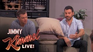 Matt Damon and Jimmy Kimmel Return to Couples Counseling by : Jimmy Kimmel Live