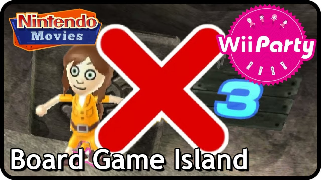 Wii Party - Board Game Island (4 players)