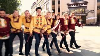 Гуляем...танцуем...наливаем. Без комментариев...Русско народная свадебная прогулка 15.08.15