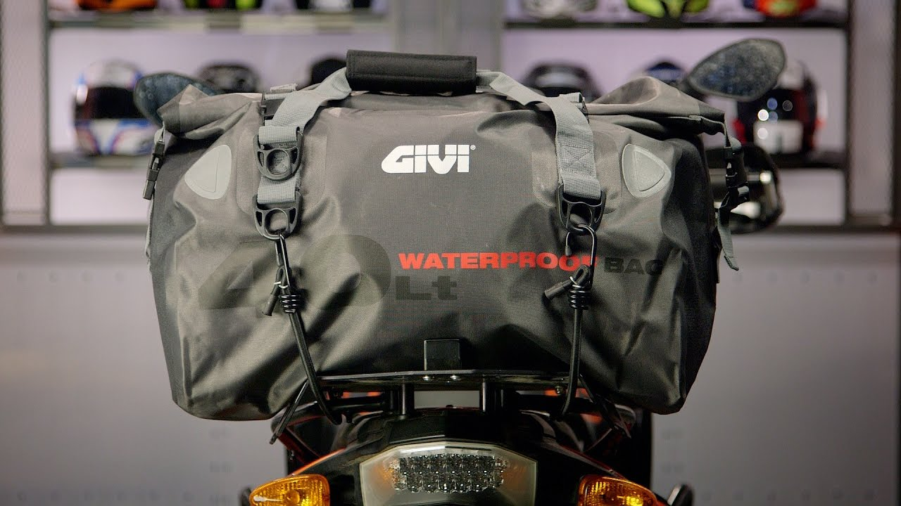 1c24d98c0e Givi WP400 40L Waterproof Bag Review at RevZilla.com - YouTube