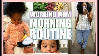 MORNING ROUTINE OF A WORKING MOM   FALL MORNING ROUTINE WITH A TODDLER   NIA NICOLE