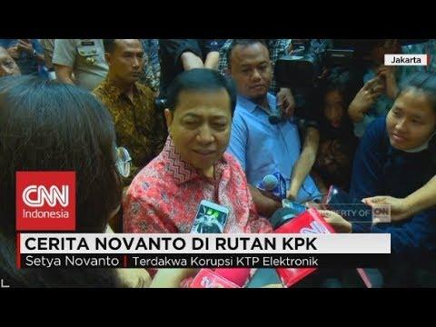 Curhat Setya Novanto, Jadi Anak Kos hingga Makan Mie Instan di Rutan KPK