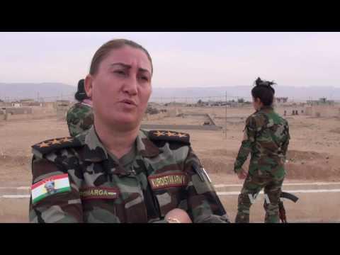 Yazidi Women Fighters: 'We Hope for Battle'
