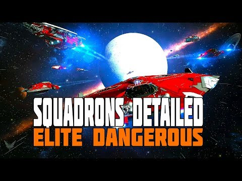 Elite Dangerous - Squadrons Detailed: How they Work, Who can Join - Plus Fleet Carriers