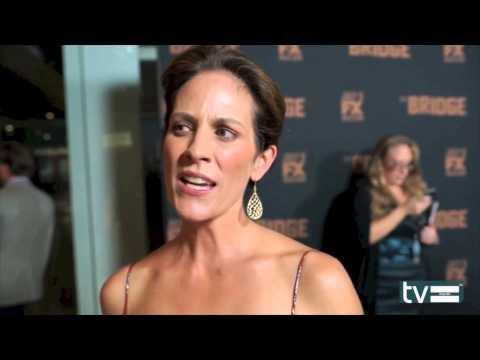 Annabeth Gish Interview - The Bridge (FX) Season 2