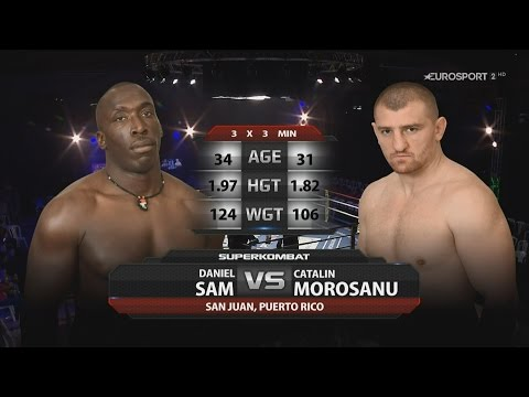Daniel Sam vs Catalin Morosanu - Superkombat in San Juan - Puerto Rico - 26 March 2016