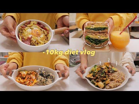(sub)diet vlog? 맛있어서 꾸준히 지속가능한 다이어트식단 요리브이로그|다이어트 레시피|mukbang vlog|간헐적단식|food vlog|slow diet|건강식