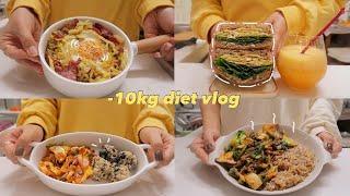 (sub)diet vlog맛있어서 꾸준히 지속가능한 다…