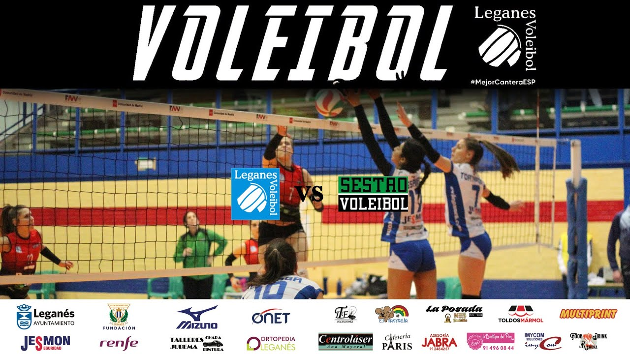 🎥 Resumen de la jornada: SF2 | Voleibol Leganés vs CV Sestao