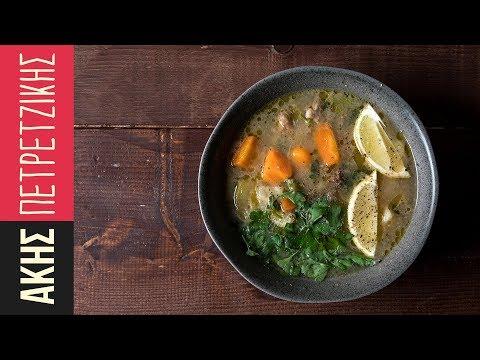 Κρεατόσουπα με λαχανικά | Kitchen Lab By Akis Petretzikis