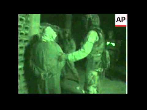 Three arrests during US raids in Saddam's home town
