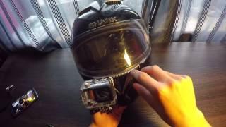 DMV Special #17 - Montaż kamery na brodzie - Odklejanie przylepca - Wady i zalety - Kask Shark S900C