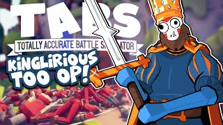 KINGLIRIOUS RETURNS! | Totally Accurate Battle Simulator | Adventure Part 2!