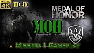Medal of Honor (MOH) 2010 - 4K UHD - Mission #1 - First In - Gameplay (PC)