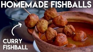 How to Make Fish Balls (鱼蛋)