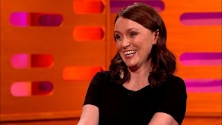 Keeley Hawes' Tomb Raider sound effects - The Graham Norton Show: Episode 4 - BBC One