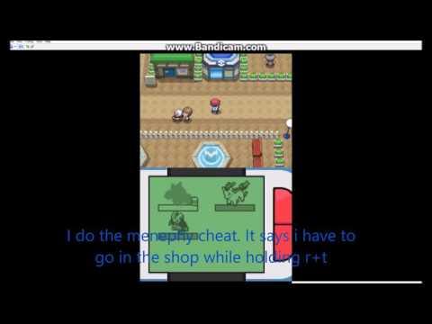 How To Cheat On Pokemon Platinum DeSmuMe