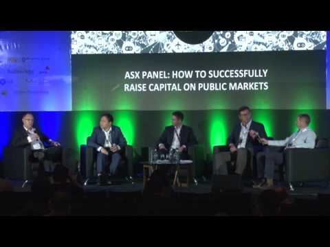 ASX Panel: How to Successfully Raise Capital on Public Markets - WD2016