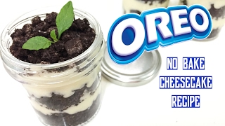 Super Easy Oreo Recipe  | 3 ingredients only | No bake cheesecake in a jar