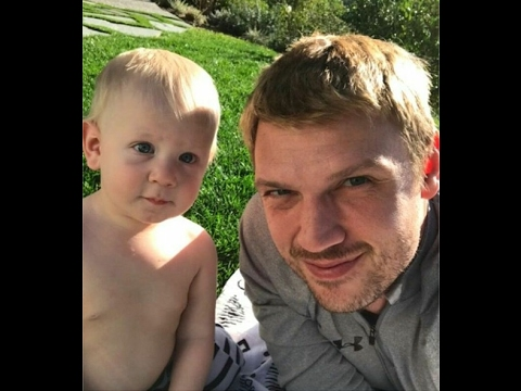 Nick Carter and his son Odin Reign Carter (+ Lauren Kitt Carter)