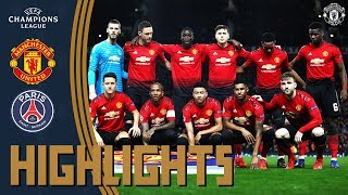 Highlights | Manchester United 0-2 PSG | UEFA Champions League