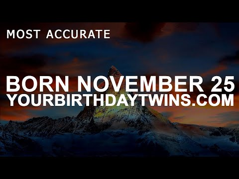 Born On November 25 | Birthday | #aboutyourbirthday | Sample