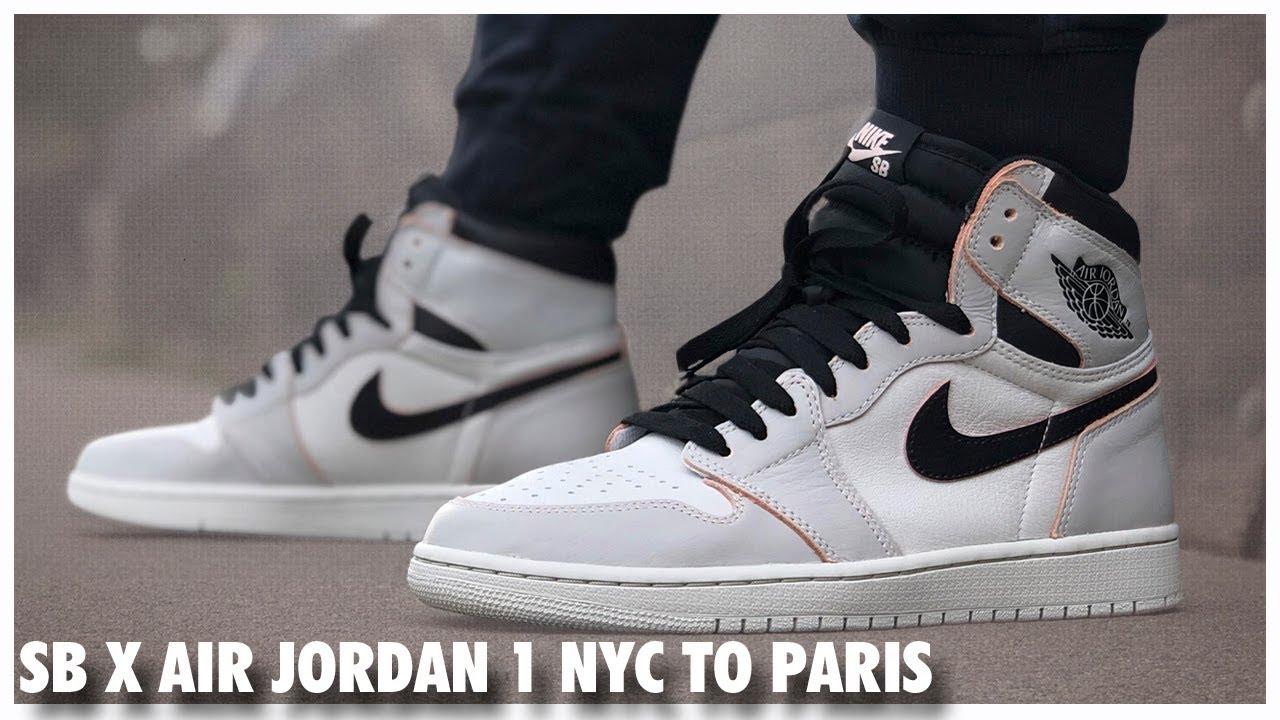 air jordan 1 new york to paris