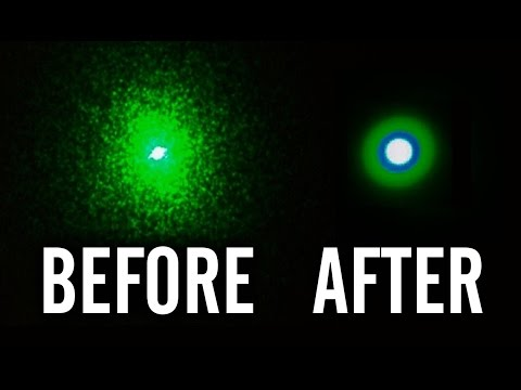 How to Clean a Laser Pointer Lens