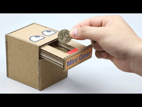 4 Amazing Coin Bank Box DIY at Home Compilation