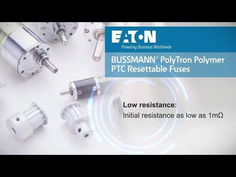 Bussmann PTSLR surface mount low resistance PTC resettable fuses