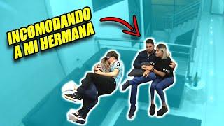 BROMA SIENDO CACHONDOS EN FRENTE DE MI HERMANA! *mira su reacción*