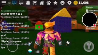 Jorel the boss goes back to roblox