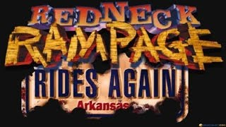 Redneck Rampage: Rides Again gameplay (PC Game, 1998)