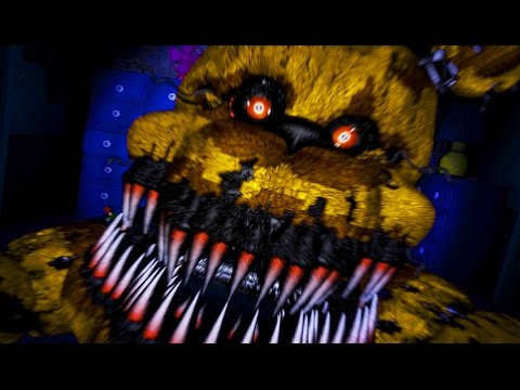 withered freddy sings fnaf song spanish