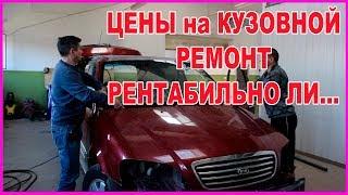 ЦЕНЫ кузовного РЕМОНТА  РЕНТАБЕЛЬНОСТЬ ремонта СТАРЫХ авто...